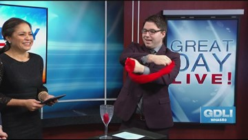 How'd he do it?! Magician Cody Clark Wows GDL!