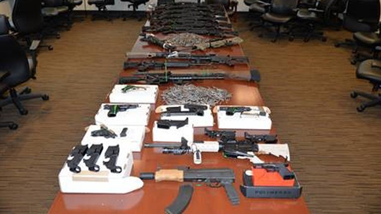 Guns owned by Indiana duo indicted on terrorism