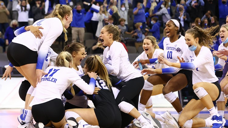 'It's just numbing': UK women volleyball team makes history with first-ever national championship