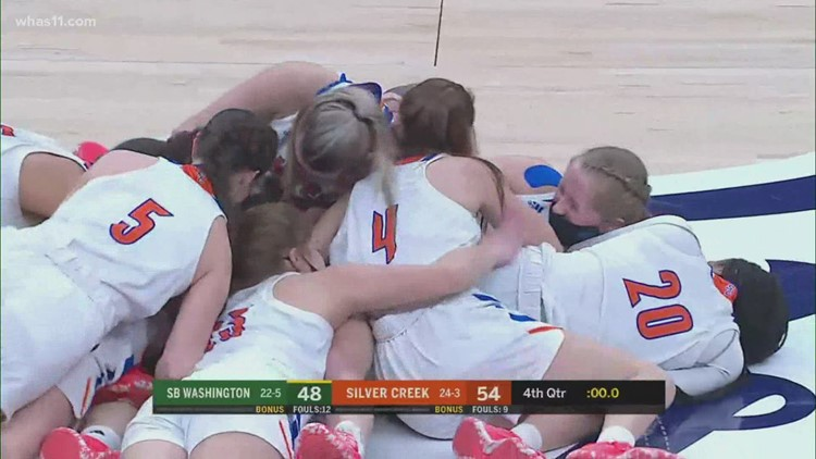 Silver Creek girls basketball wins state championship