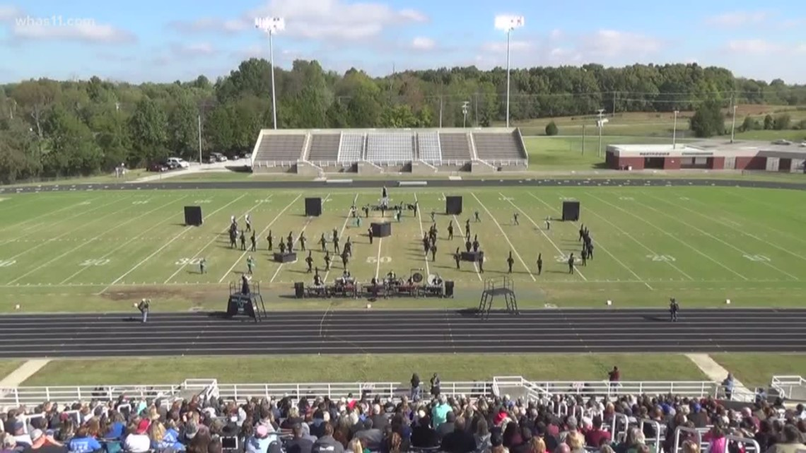 Local marching band is making its mark