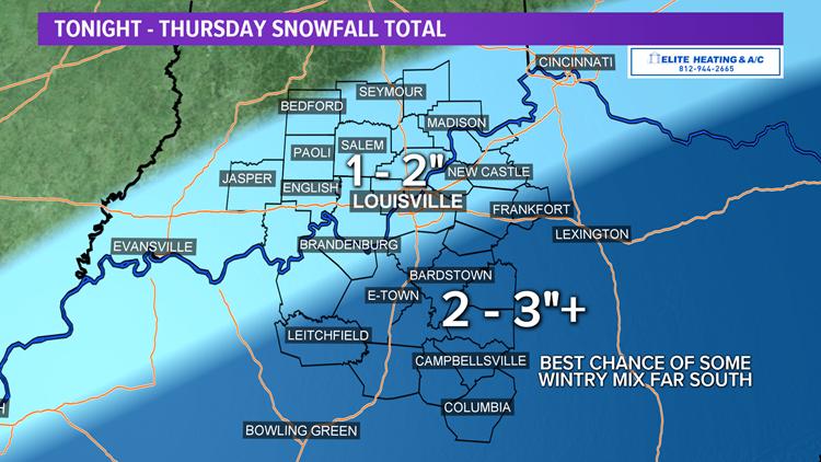 More snow through Thursday!