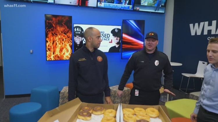 Local firefighters express their gratitude for 'Stressed Into Silence'
