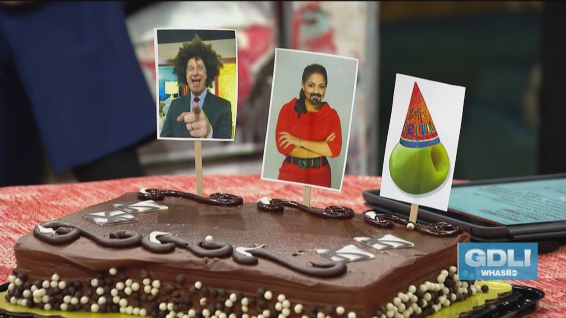 Happy Birthday Terry, Angie and Olive!