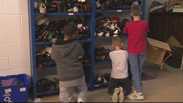 Program provides JCPS students, parents with free clothing for new school year