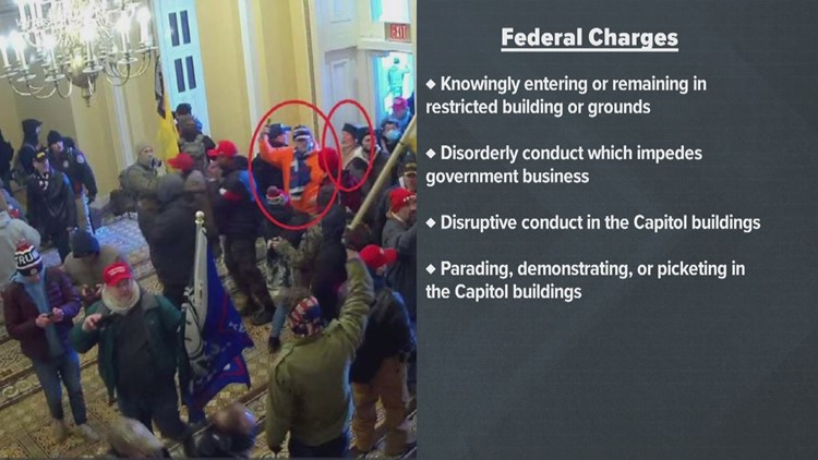 Capitol riots: Western Kentucky couple facing multiple federal charges