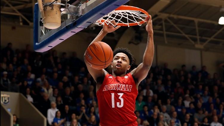 Louisville's David Johnson declares for NBA Draft