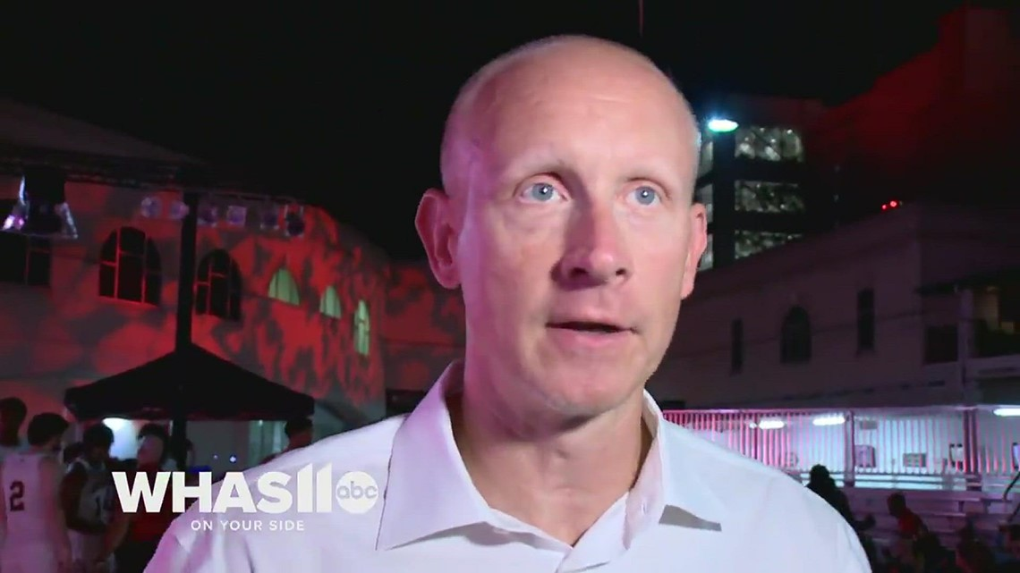 UofL Head Coach Chris Mack talks briefly about suspension