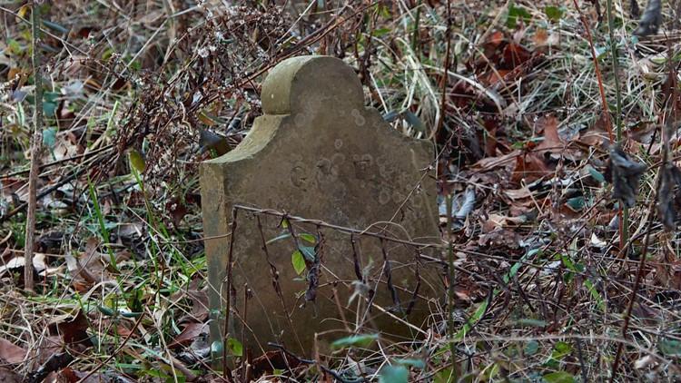 Georgetown cemetery headstone