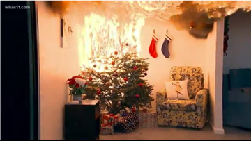 How to avoid a Christmas tree fire this holiday season