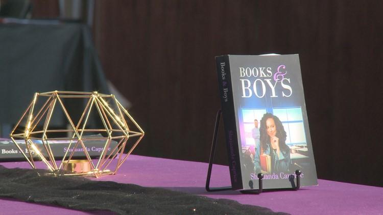 Local Black authors showcase work in inaugural book fair at Iroquois Park