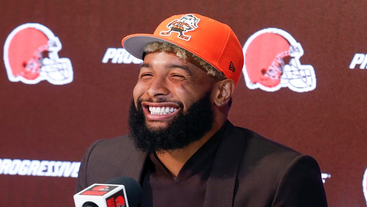 OBJ reports to Browns, will practice after skipping workouts