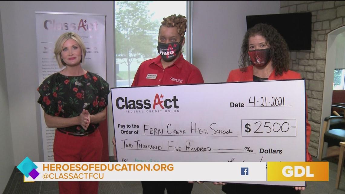 GDL: Fern Creek High School awarded $2,500 as
