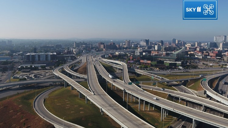 Spaghetti Junction Sky 11 view