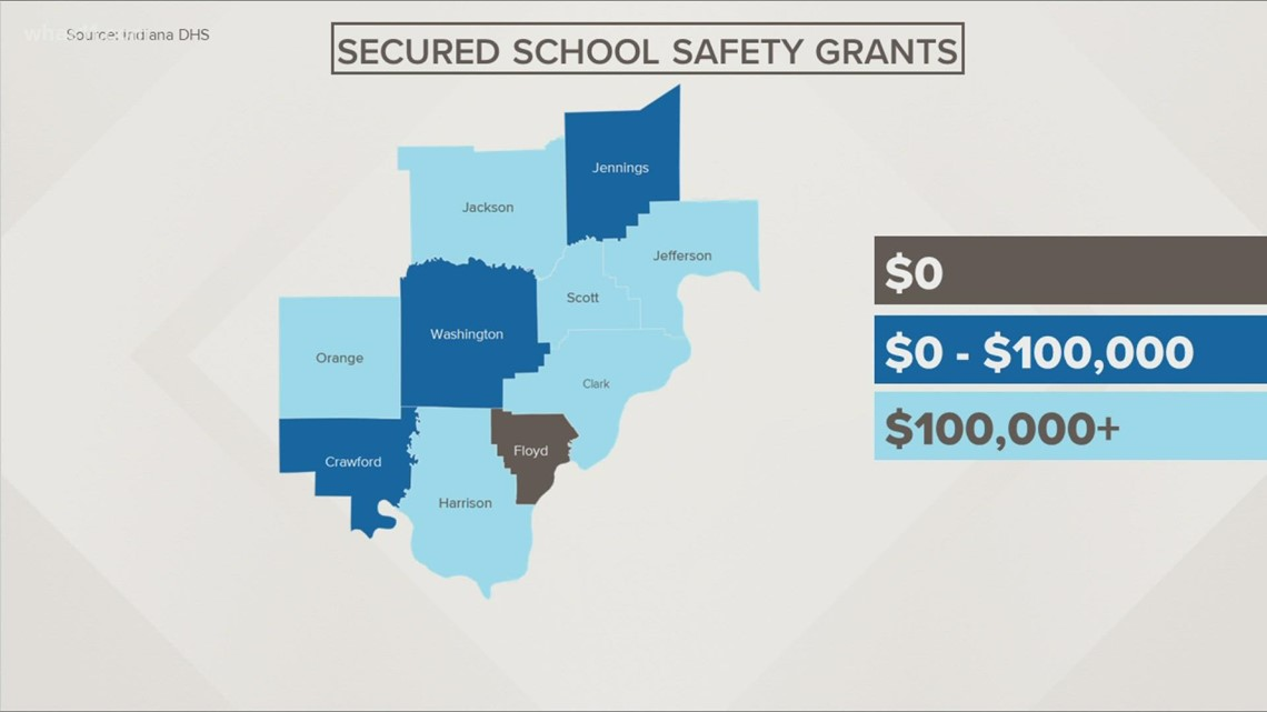 Indiana gives $19 million through grants to improve school safety