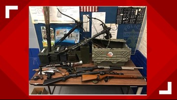 LMPD bust uncovers trove of weapons including crossbows, cocaine