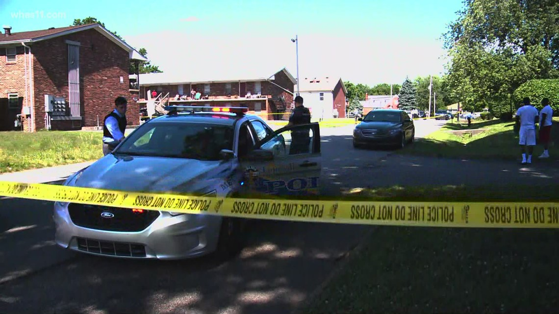 Teen hospitalized after shooting in Louisville