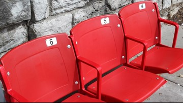 Old Cardinal Stadium seats to be put at Louisville bus stops