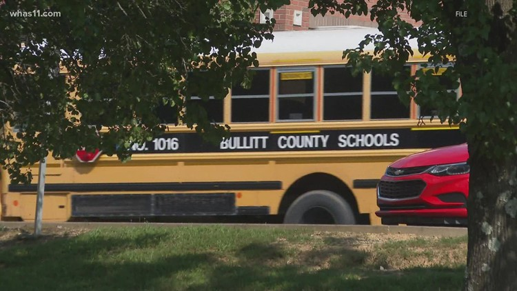 Bullitt County students affected by bus route changes Tuesday