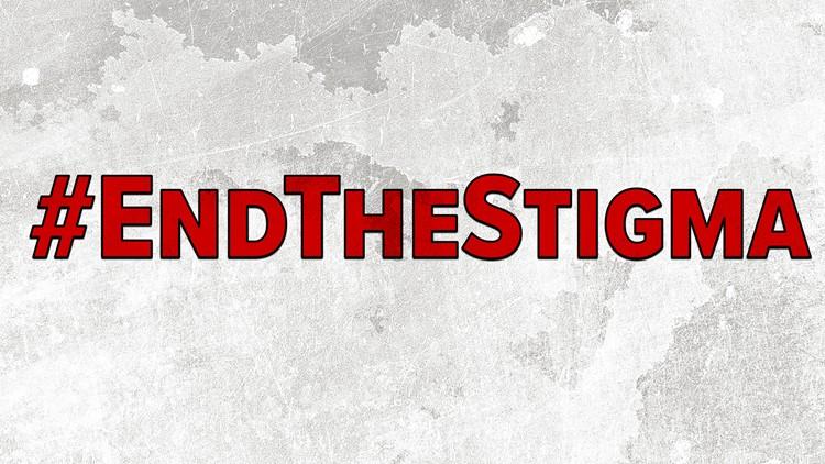 EndTheStigma graphic