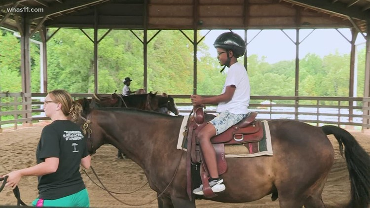 WHAS Crusade for Children helps fund camp at Center for Courageous Kids