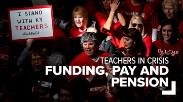 'We don't have the resources we need.' | Teacher rallies, 'sickouts' are about more than pay