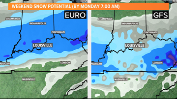 Snow possible in Kentuckiana this weekend - what you need to know!