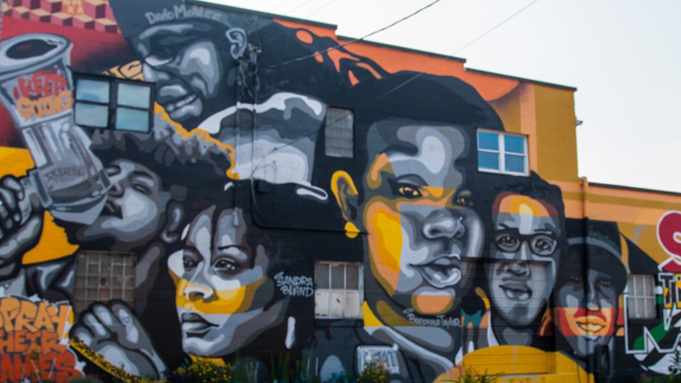 'Say Their Names' mural in Louisville repaired, new face added