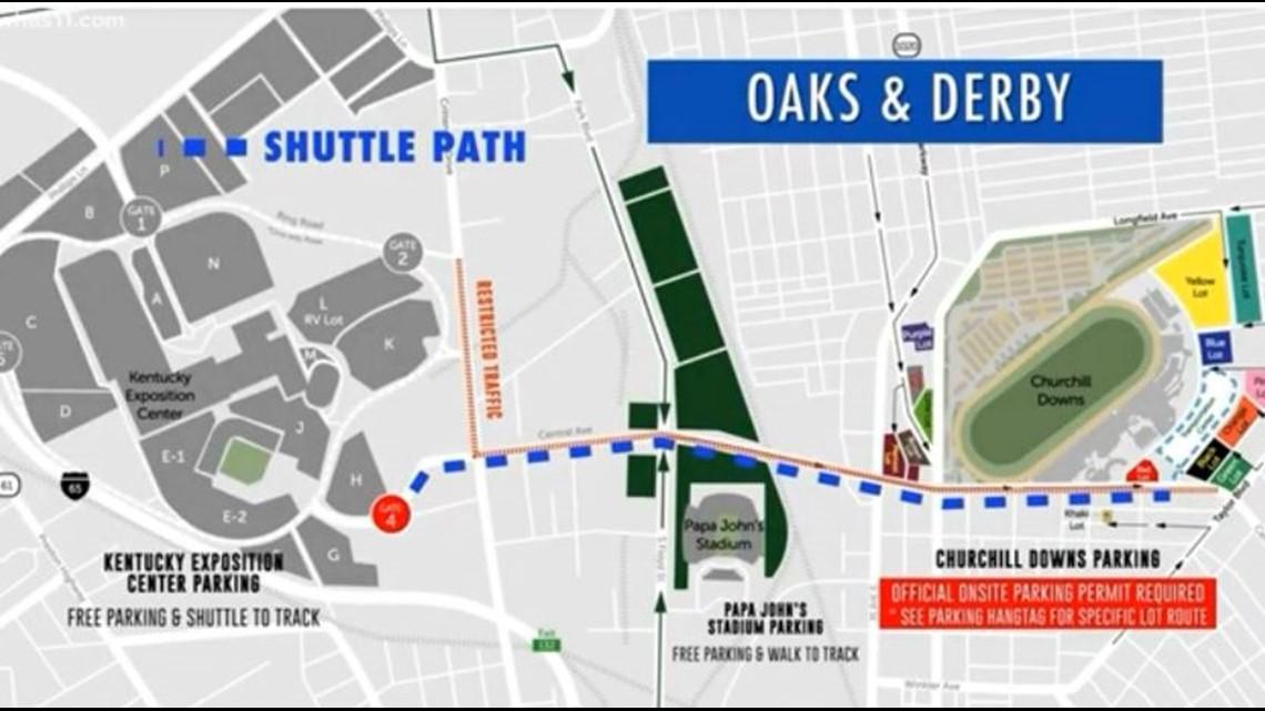 Churchill Downs announces Derby week parking, traffic plan | whas11.com