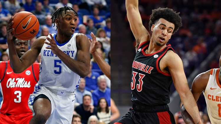 Kentucky jumps ahead of Louisville in latest AP poll