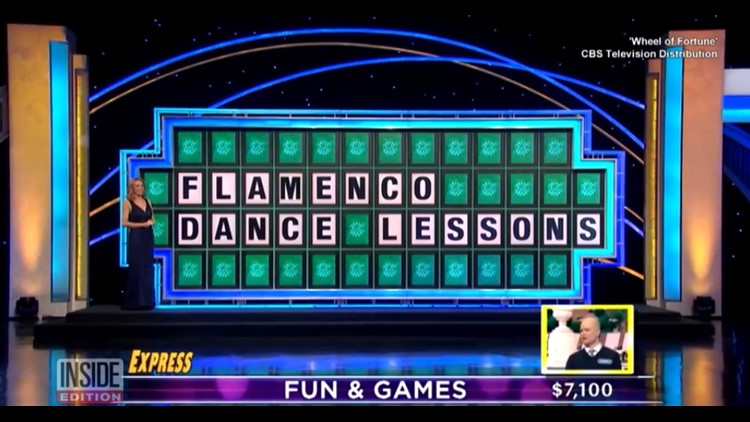 'Wheel of Fortune' contestant's mispronunciation of 'flamenco' costs him $7100