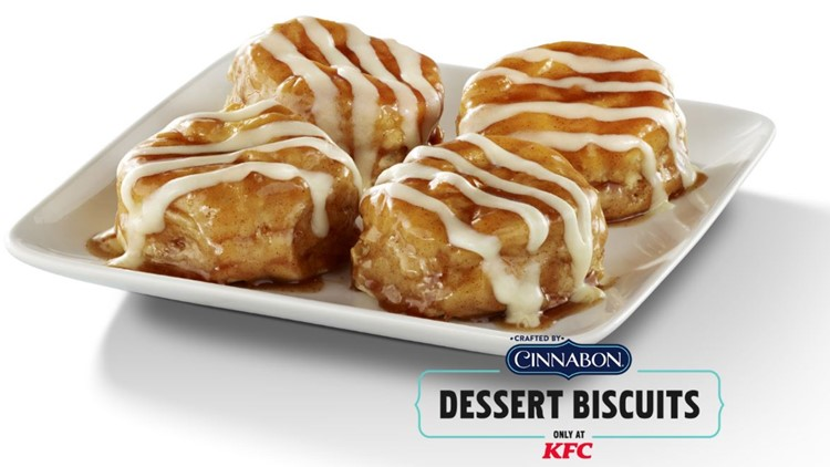 Give your mom KFC's Cinnabon Dessert Biscuits this Mother's Day