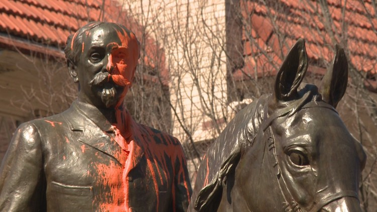 Controversial statues to be relocated in Louisville.