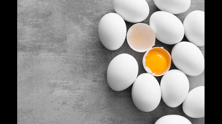 The eggs were distributed from a farm in eastern North Carolina's Hyde County by Indiana-based Rose Acre Farms.