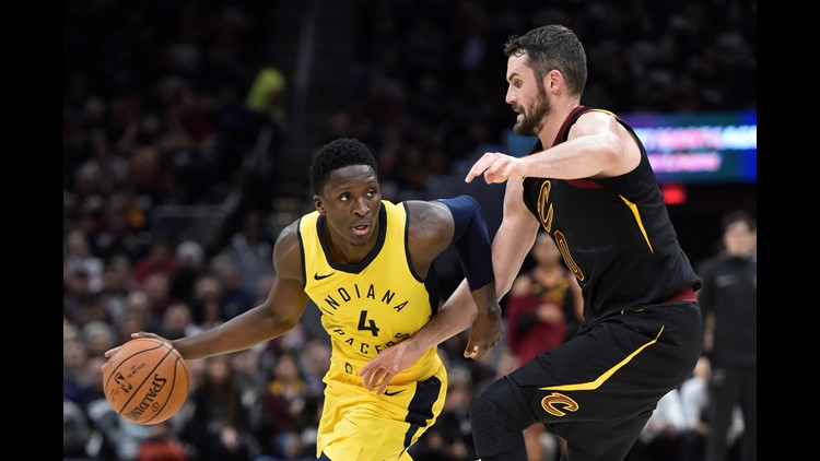 The Pacers completely outplayed the three-time defending conference champions, whose turbulent regular season has carried over into the playoffs.