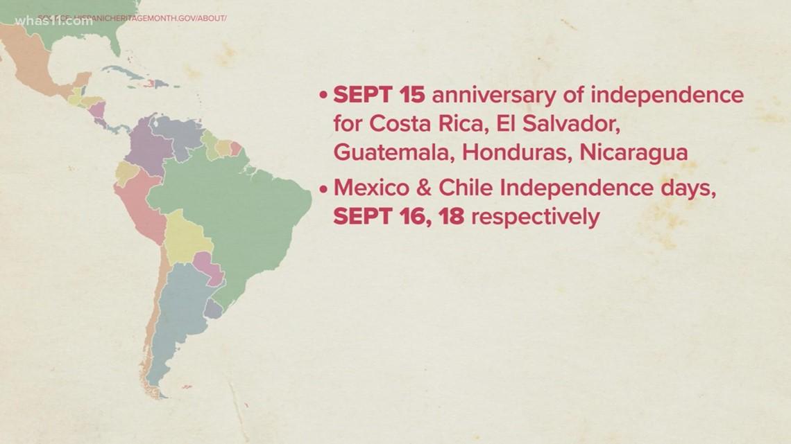 Hispanic Heritage Month begins Sept. 15