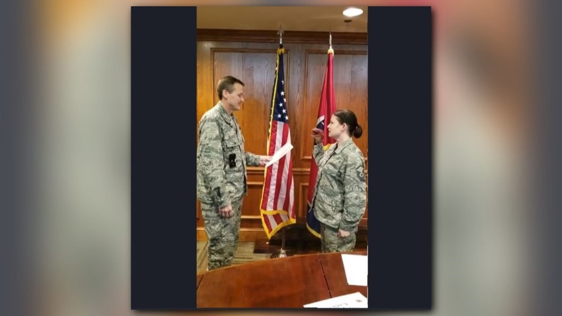 Video Colonel Demoted Retired From Tn Air National Guard Over Dinosaur Puppet Re Enlistment Whas11 Com