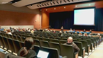 Neighbors concerned with proposed JCPS middle school near The Parklands