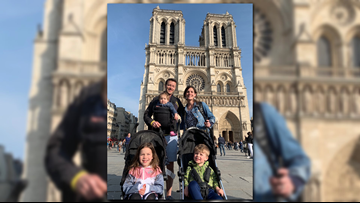 Kentucky family recounts seeing Notre Dame in flames