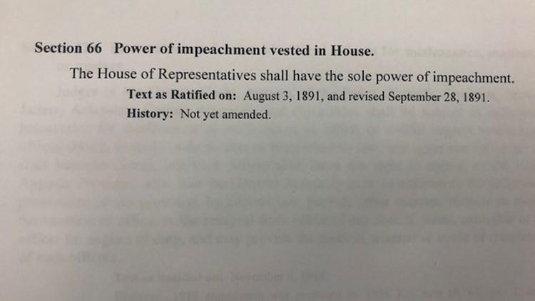 impeachment process document