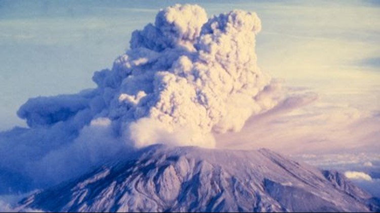 A friend of photographer Peggy Short-Nottage's family recently rediscovered the slides, and she is sharing them in advance of the 38th anniversary of the deadliest volcanic eruption in U.S. history.