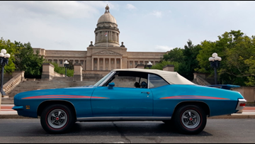 Pontiac GTO owned by Kentucky's 52nd governor sold at auction