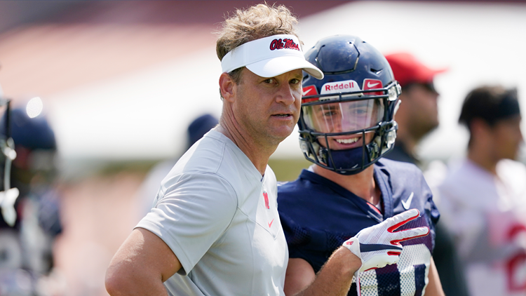 Ole Miss head coach Lane Kiffin tests positive for COVID-19 ahead of match-up with Louisville