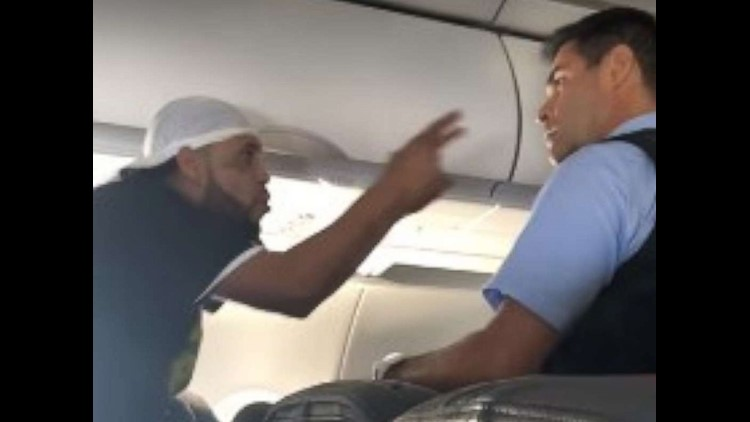 Unruly passenger arrested after allegedly launching midair tirade when denied more drinks