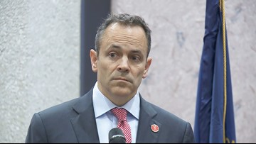 Bevin breaks from Trump, defends Derby disqualification