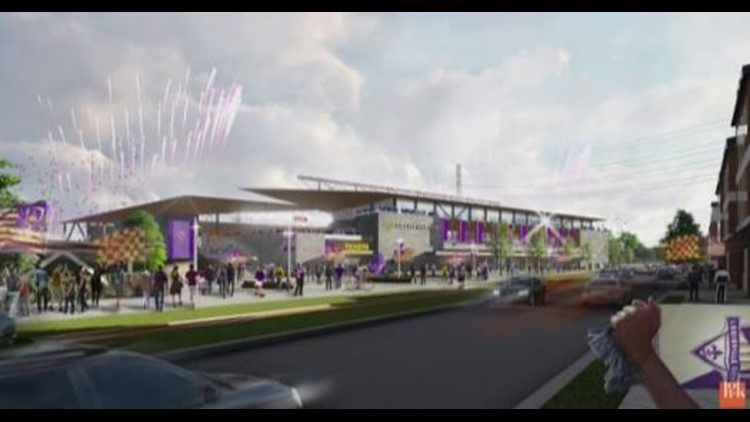 The money the football club has received will help them move forward with the next phase of the stadium project.