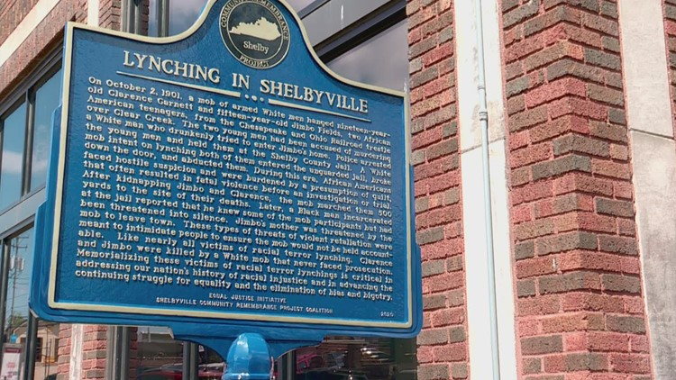 Shelby County first in Kentucky to install markers remembering lynching victims