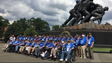 Honor Flight sends veterans to D.C. to honor service, sacrifice
