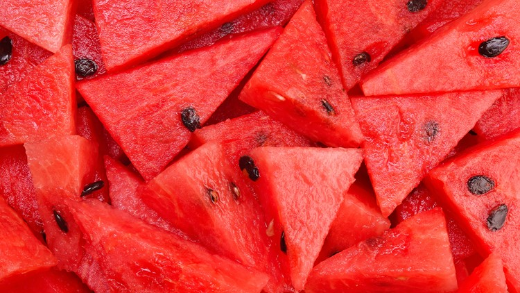 School leaders are questioning an incident after a photo was taken of students passing a watermelon during Ballard's game vs. Central High School on Friday.