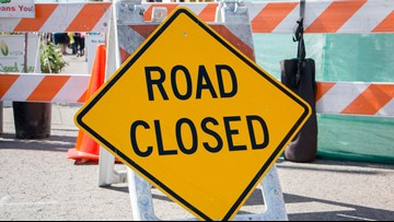 Part of Lexington Road will be closed starting Feb. 17